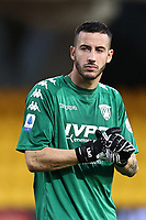 Lorenzo Montipo of SC Benevento<br /> during the Serie A football match between SC Benevento and FC Internazionale at stadio Ciro Vigorito in Benevento (Italy), September 30, 2020. <br /> Photo Cesare Purini / Insidefoto