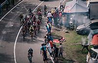 BBQ up the final climb to Pratonevoso<br /> <br /> stage 18: Abbiategrasso - Pratonevoso (196km)<br /> 101th Giro d'Italia 2018