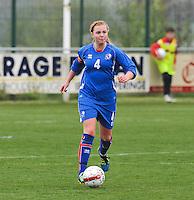UEFA Women's Under 17 Championship - Second Qualifying round - group 1 : England - Iceland : .Glodis Viggosdottir.foto DAVID CATRY / Vrouwenteam.be