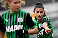 Giada Pondini of Sassuolo reacts during the women Serie A football match between US Sassuolo and Hellas Verona at Enzo Ricci stadium in Sassuolo (Italy), November 15th, 2020. Photo Andrea Staccioli / Insidefoto