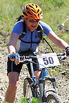 Margot Harkness at the foot of the big hill. Mammoth Adventure MTB Ride, Nelson<br /> Photo: Marc Palmano/shuttersport.co.nz