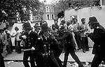 Notting Hill Carnival Riot 1976 Bank Holiday Monday.