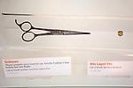 Amelia Earhart Exhibit - Scissors Used To Cut Her Hair Before Her Last Flight, Air & Space Museum - Steven F. Udvar-Hazy Center