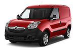 2015 Opel COMBO LiHI 4 Door Cargo Van 2WD Angular Front stock photos of front three quarter view