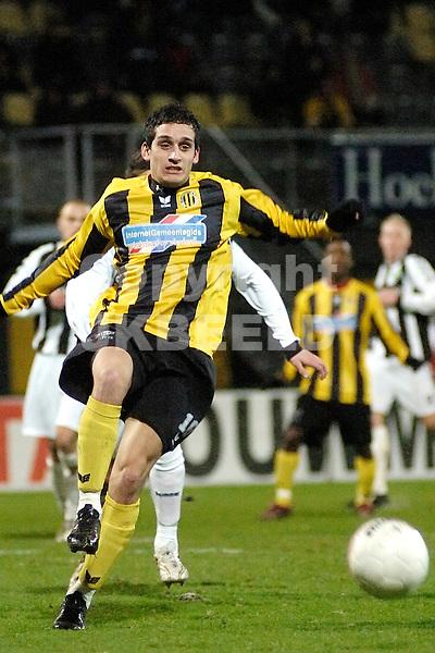 voetbal bv veendam - ado den haag jupiler league 25-01-2008.gersom klok.fotograaf Jan Kanning