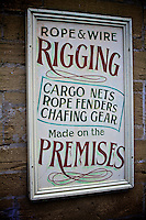 Rigging Sign at the Shipreck Museum, Warrnambool