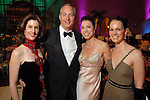 Chairs Phoebe and Bobby Tudor with Karen Payne and Beth Muecke at the Ballet Ball at the Wortham Theater Saturday  Feb. 16,2008.(Dave Rossman/For the Chronicle)