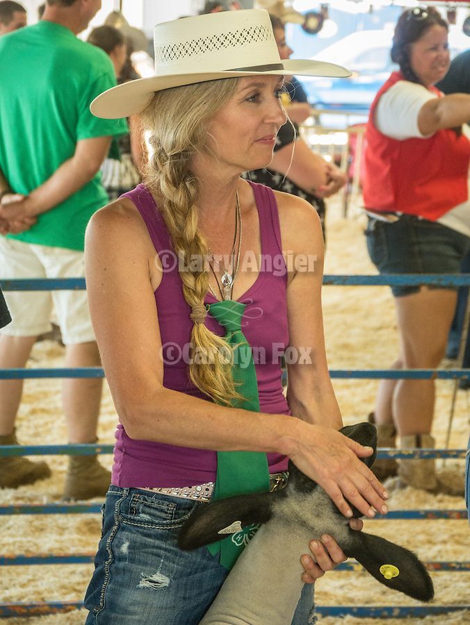 Day 3 of the Amador County Fair, Plymouth, Calif.<br /> <br /> Adult Round Robin livestock competition