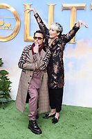 "Robert Downey Jr and EmmaThompson<br /> arriving for the ""Dolittle"" premiere at the Empire Leicester Square, London.<br /> <br /> ©Ash Knotek  D3549 25/01/2020"