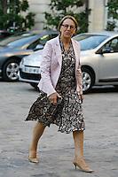 Marylise Lebranchu (Ministre de la Reforme de l etat de la Decentralisation et de la Fonction publique). .Parigi 22/8/2012.Consiglio dei Ministri.Foto Insidefoto / Gwendoline Le Goff / Panoramic