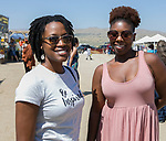 Aliah and Tennille during the Numaga Indian Days Pow Wow in Hungry Valley on Saturday, Sept. 1, 2018.