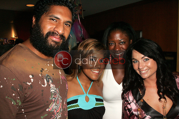 """Sala Baker with Maurise Maclou and Lindsey Labrum with guest<br /><br />at a birthday party for E.G. Daily, Lindsey Labrum and Yvette Lopez, benefitting """"Last Chance for Animals"""". Private Location, Los Angeles, CA 09-02-06<br />Dave Edwards/DailyCeleb.com 818-249-4998"""