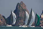 Boats in action during Race 3 on the first day of action at the 2010 China Cup International Regatta.