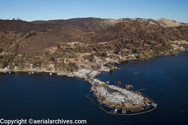 Sulfur Fire, Lake County, California, northern California wildfires, 2017