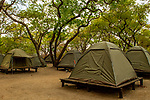 Anti-poaching camp, Kafue National Park, Zambia