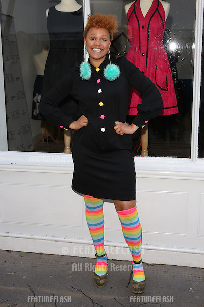 Gemma Cairney arriving for the BOB By Dawn O'Porter Pop Up Boutique - VIP Launch Party<br /> London, England. 06/05/2015 Picture by: James Smith / Featureflash