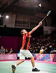 William Roussey, Lima 2019 - Para Badminton // Parabadminton.<br /> William Roussey compete in badminton // William Roussey participent au badminton. 31/08/2019.