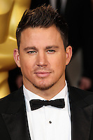 HOLLYWOOD, LOS ANGELES, CA, USA - MARCH 02: Channing Tatum at the 86th Annual Academy Awards held at Dolby Theatre on March 2, 2014 in Hollywood, Los Angeles, California, United States. (Photo by Xavier Collin/Celebrity Monitor)