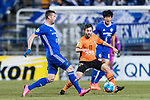 Ulsan Hyundai Forward Ivan Kovacec (L) in action during the AFC Champions League 2017 Group E match between Ulsan Hyundai FC (KOR) vs Brisbane Roar (AUS) at the Ulsan Munsu Football Stadium on 28 February 2017 in Ulsan, South Korea. Photo by Victor Fraile / Power Sport Images