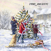 Marcello, CHRISTMAS CHILDREN, WEIHNACHTEN KINDER, NAVIDAD NIÑOS, paintings+++++,ITMCXM1207C,#xk# ,playing in snow