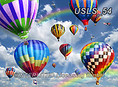 Lori, LANDSCAPES, LANDSCHAFTEN, PAISAJES, paintings+++++1-BalloonsInTheSky,USLS54,#l#, EVERYDAY ,puzzle,puzzles