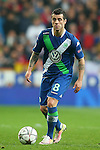 WfL Wolfsburg's Vieirinha during Champions League 2015/2016 Quarter-finals 2nd leg match. April 12,2016. (ALTERPHOTOS/Acero)