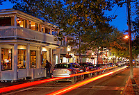 Edgartown nightlife, Martha's Vineyard, Massachusetts, USA