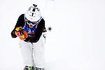 Challenge Mer et Montagne 2012, Saint Gervais les Bains, Mont Blanc, Haute Savoie, France..Ski Super Geant..Christopher Pratt