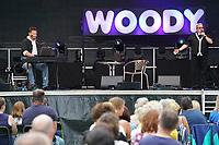 Woody Feldmann tritt mit Ralf Baitinger im Waldschwimmbad Mörfelden auf - Mörfelden-Walldorf 17.07.2021: Konzert Woody Feldmann