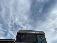 Building and blue sky,<br /> Edificio y Cielo azul. arquitectura.<br /> Hermosillo, Sonora, Mexico