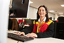 06/11/19<br /> <br /> DHL frontline staff during the Peak period (from Black Friday to Christmas) for  internal magazine 'On The Dot'<br /> <br /> <br /> All Rights Reserved: F Stop Press Ltd.  <br /> +44 (0)7765 242650 www.fstoppress.com