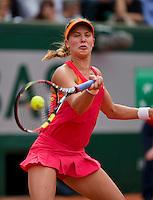 France, Paris, 03.06.2014. Tennis, French Open, Roland Garros, Eugenie Bouchard (CAN)<br /> Photo:Tennisimages/Henk Koster