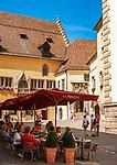 DEU, Deutschland, Bayern, Oberpfalz, Regensburg: Rathausplatz, Altes Rathaus mit Reichssaal | DEU, Germany, Bavaria, Upper Palatinate, Regensburg: Townhall Square with Old Townhall and Reichssaal