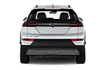 Straight rear view of 2022 Chevrolet Bolt-EUV LT 5 Door suv Rear View  stock images