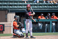 STANFORD, CA - MAY 29: Eddie Park during a game between Oregon State University and Stanford Baseball at Sunken Diamond on May 29, 2021 in Stanford, California.
