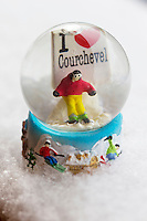 Europe/France/Rhone-Alpes/73/Savoie/Courchevel: Boule de neige- Souvenir de Courchevel