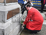 Wreath Laying at Cenotaph 2015