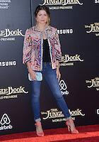 Sofia Reyes @ the premiere of 'The Jungle Book' held @ El Capitan theatre.<br /> April 4, 2016