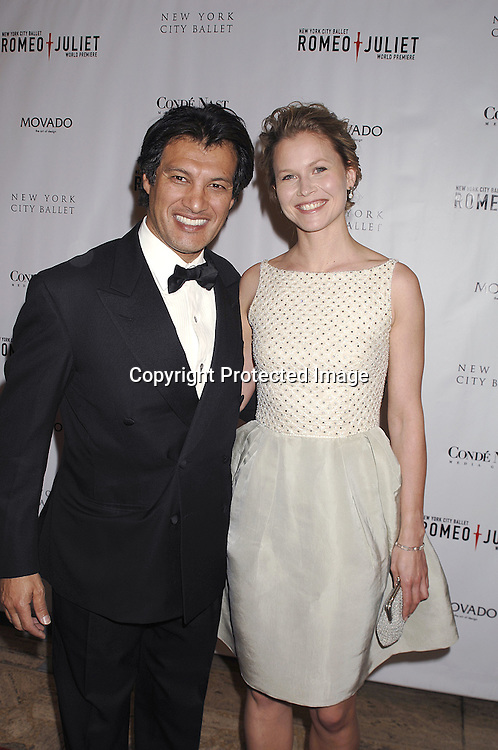 Frederick Fekkai and wife Shirine..arriving at The New York City Ballet Annual Spring Gala ..on May 1, 2007 at The New York State Theatre. The World Premiere of Romeo and Juliet was danced. ..Robin Platzer, Twin Images......212-935-0770..