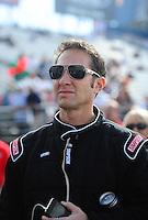 Nov. 13, 2011; Pomona, CA, USA; NHRA top fuel dragster driver Mike Ashley during the Auto Club Finals at Auto Club Raceway at Pomona. Mandatory Credit: Mark J. Rebilas-.