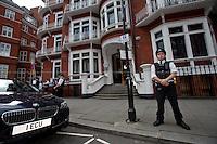 16.08.2012 - Ecuador Grants Diplomatic Asylum to Julian Assange