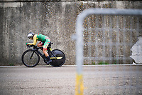 Akvile Gedraityte (LTU)<br /> <br /> Women Elite Time trial from Imola to Imola (31.7km)<br /> <br /> 87th UCI Road World Championships 2020 - ITT (WC)<br /> <br /> ©kramon