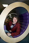 Stuart Cable the former Stereophonics drummer pictured at Swansea Library in October 2008. He has been found dead at his home in South Wales..