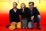 09 september 2004.61a Mostra del Cinema di Venezia. 61st Venice International Film Festival, John Diehl, Michelle Williams, Wim Wenders.Venice film festival