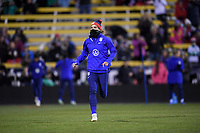 COLUMBUS, OH - NOVEMBER 07: Tobin Heath #17 of the United States warming up during a game between Sweden and USWNT at MAPFRE Stadium on November 07, 2019 in Columbus, Ohio.