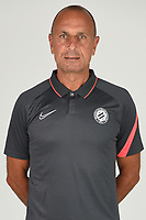 14th October 2020, Montpellier, France; Official League 1 player portraits for Montpellier FC;   ZAKARIAN Michel