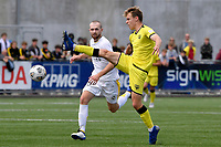 Oskar van Hattum of the Wellington Phoenix  during the ISPS Handa Men's Premiership - Wellington Phoenix v Eastern Suburbs at Fraser Park, Wellington on Saturday 28 November 2020.<br /> Copyright photo: Masanori Udagawa /  www.photosport.nz