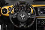 Car pictures of steering wheel view of a 2017 Volkswagen Beetle Dune 3 Door Hatchback Steering Wheel