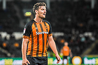 Hull City's forward Chris Martin (29) during the Sky Bet Championship match between Hull City and Leeds United at the KC Stadium, Kingston upon Hull, England on 2 October 2018. Photo by Stephen Buckley/PRiME Media Images.