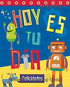 Dreams, CHILDREN, KINDER, NIÑOS, paintings+++++,MEDAKID11/1,#K#, EVERYDAY,robot